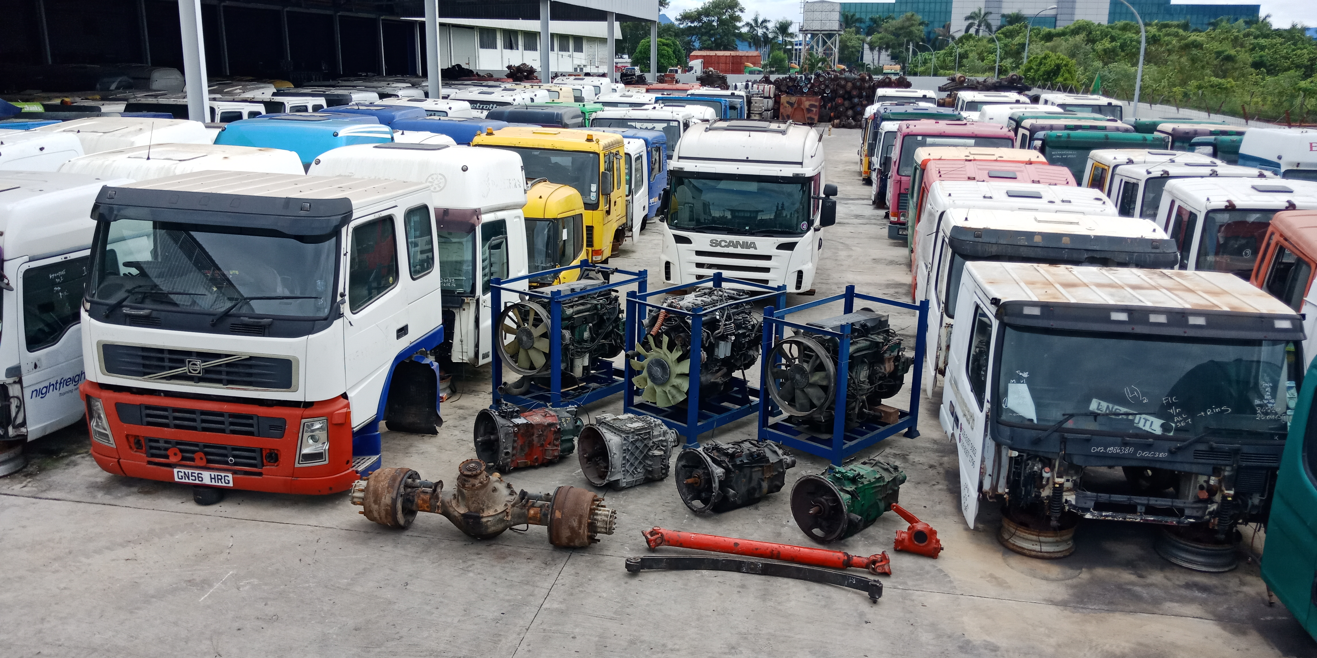 Euro Used Parts from YonMing